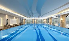 Magnificent Indoor Swimming Pools Layout Design Establish Cool Residential Luxury Home Affordable