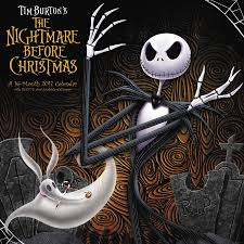 Nightmare Before Christmas Bathroom Set by The Nightmare Before Christmas Wall Calendar 2017 Day Dream