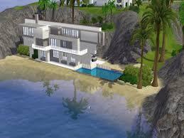 100 Modern Houses Blueprints Sims 3 Beach House Sims 3 House Plans Beach House