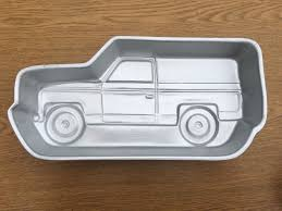 WILTON TRUCK / Suburban / Pick Up Truck Cake Pan - 1980 - $12.00 ... Wilton Truck Suburban Pick Up Truck Cake Pan 1980 1200 Love Your Journey Dump Birthday And More Recipe Taste Of Home Vintage Fire Little 1991 Wilton Etsy Monster Tractor Amazoncouk Clothing Engine Recipe Food To Cakes Decoration Ideas Suzy Homefaker Tanker Cake Birthdays Sensational Engine Images Free Wheelin Mold Cover Sheet 21051197