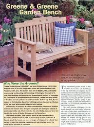 garden bench plans u2022 woodarchivist