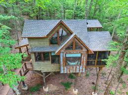 100 Tree Houses With Hot Tubs Inn The Ravine Luxury House Hot Tub Fireplace Firepit
