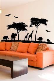 Safari Living Room Decorating Ideas by Best 25 Safari Bedroom Ideas On Pinterest Painting Trees On