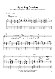Lightning Crashes Sheet Music Music for Piano and More