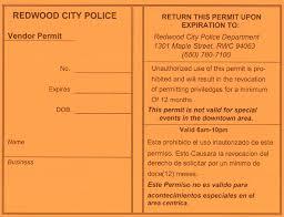 100 Food Truck Permit Vendor City Of Redwood City