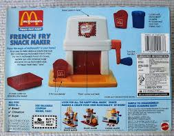mcdonald s pommes frittes maschine happy meal magic fry snack maker