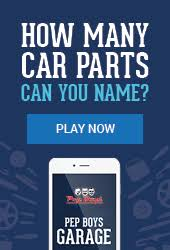 auto parts at pep boys