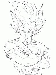 Awareness Free Printable Dragon Ball Z Coloring Pages For Kids