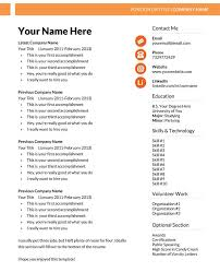 More Simple Resume Templates Free Download Best Professional Intended For Template Isabelle