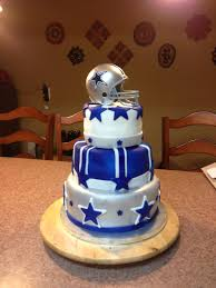 dallas cowboys baby shower cake for hopefully future ladusch baby