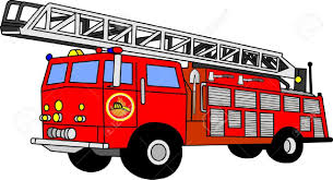 100 Fire Truck Red Engine Clipart