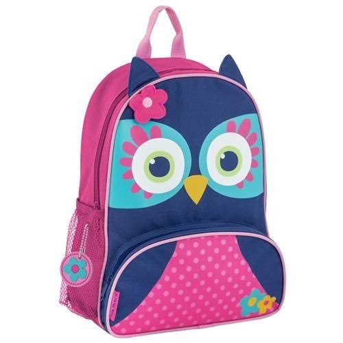 Stephen Joseph Sidekicks Backpack Blue Owl