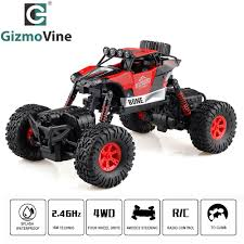 100 4 Wheel Drive Rc Trucks GizmoVine RC Car Double Motors 2G Waterproof WD RoboPhase
