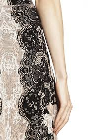 relief jacquard lace a line skirt