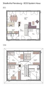 stadtvilla grundriss modern mit kamin zeltdach architektur