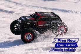 100 Summit Rc Truck Traxxas RTR 4WD Monster W TQi 24GHz And EVX2 ESC