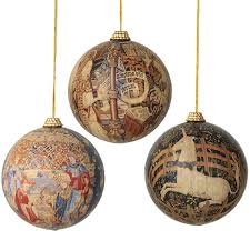 Spode Christmas Tree Bauble Cookie Jar by Cloisters Tapestries Christmas Ornaments Christmas Ornament