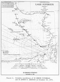 Where Did The Edmund Fitzgerald Sank Map by The Approximate Path The Edmund Fitzgerald Took On The Fateful