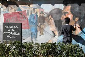 Chicano Park Murals Restoration by Vasquez Mural To Be Featured In Getty U0027s 2017 Pacific Standard Time