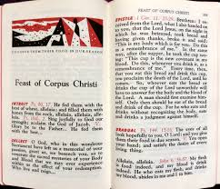 Definition Of The Word Decorous by Corpus Christi U2014following Liturgical Change In Hand Missals