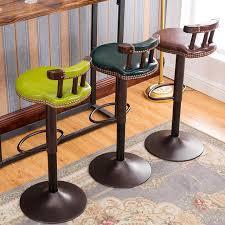 chaise de bureau antique mode antique bar chaise de levage rotation avant chaise de bureau