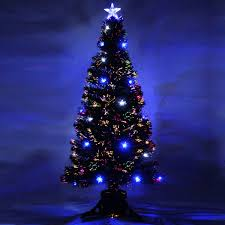 christmas stunningl fiber optic christmas tree photo ideas 4ft