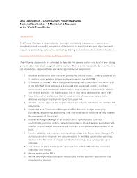 resume exles for construction workers sle construction