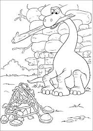 The Good Dinosaur Online Coloring Pages Printable Book For Kids 11