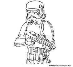 Easy Stormtrooper Star Wars Coloring Pages