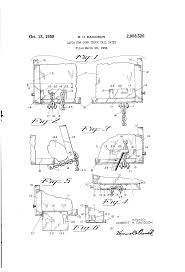 Patent US2908529 - Latch For Dump Truck Tail Gates - Google Patents