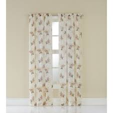 Walmart Better Homes And Gardens Sheer Curtains by Better Homes And Gardens Semi Sheer Window Curtain Walmart Com