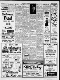 Kentile Floors South Plainfield Nj by Courier News From Bridgewater New Jersey On May 16 1952 Page 8
