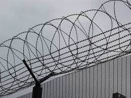 The Drawing Of Anti Climb Fence Installation Including Welded Razor Wire Fence Protection For Site
