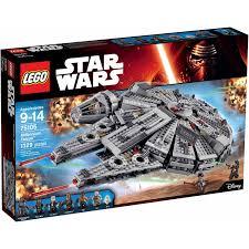 Star Wars Room Decor Walmart by Lego Star Wars Millennium Falcon