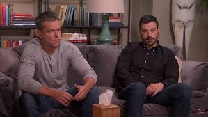 Hey Jimmy Kimmel Halloween Candy by Jimmy Kimmel And Matt Damon A Celebrity Feud For The Ages Hollywire