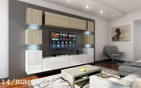 wohnwand future 14 moderne wohnwand exklusive mediamöbel tv schrank neue garnitur große farbauswahl rgb led beleuchtung verfügbar ohne led