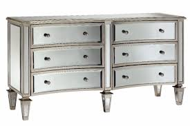Hayworth Mirrored 3 Drawer Dresser by Large Mirrored Chest Of Drawers Images With Extraordinary Chest
