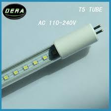 4piece 8w 2ft t5 led g5 fluorescent replacement light bulb ac