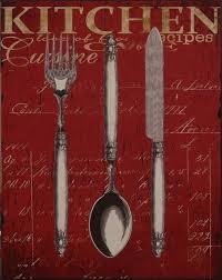 küchen deko blech schild wanddeko küche rot silber creme aufschrift nostalgicart metall ellas wohnwelt de