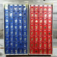 Full Set Of Red And Blue Vintage Stratego Board Game Pieces By CowsintheFog On Etsy