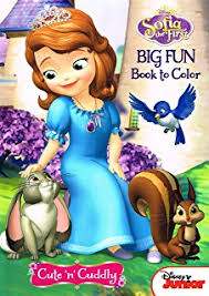 DisneyA Sofia The First Coloring And Activity Book Set 2 Books 96 Pgs Each