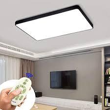 coosnug led deckenleuchte 72w dimmbar schwarz quadrat deckenle wohnzimmer schlafzimmer küche panel leuchte 3000 6500k energieklasse a