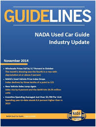 100 Used Truck Values Nada October Vehicle Prices Fall New Vehicle Sales Rise