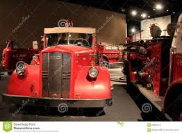 Exhibits Of Historical Fire Truck Collection Can Be Seen At The ...