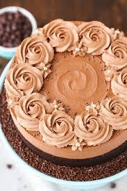 Guinness Chocolate Mousse Cake from the cookbook Simple Beautiful Homemade Cakes So good