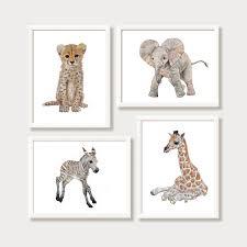 Zoo Animal Baby Shower