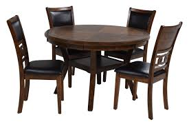 Gia Round Table With 4 Chairs In Light Brown   Mor Furniture For Less Kitsch Round Glass Table Set Of 4 Chairs Dfs Ireland Mcombo Mcombo Ding Side 4ding Clear Ingatorp And Chairs White Ikea Cally Modern Table With La Sierra Fniture Grindleburg 60 Woodstock Carisbrooke Barker Stonehouse Dayton 48 Upholstered Shop Hlpf5cap 5 Pc Small Kitchen Setding Hanover Traditions 5piece In Tan A Jofran Simplicity Chair Slat Back Pier 1 W Aptdeco Rovicon Lulworth Pedestal