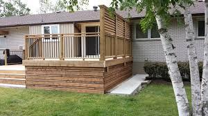 metal deck skirting ideas doherty house