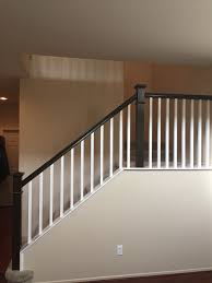 Behr: Wall Color- Lentil; Spindles: Swiss Coffee; Handrail ... Image Result For Spindle Stairs Spindle And Handrail Designs Stair Balusters 9 Lomonacos Iron Concepts Home Decor New Wrought Panels Stairs Has Many Types Of Remodelaholic Banister Renovation Using Existing Newel Stair Banister Redo With New Newel Post Spindles Tda Staircase Spindles Best Decorations Insight Best 25 Ideas On Pinterest How To Design Railings Httpwww Disnctive Interiors Dark Oak Sets Off The White Install Youtube The Is Painted Chris Loves Julia