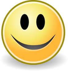 Tango Face Smile Clip Art